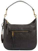 Marc Jacobs Recruit Leather Hobo - Black
