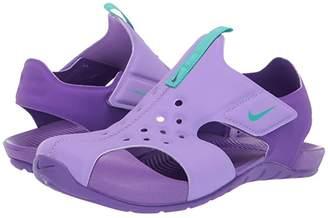 Nike Kids Sunray Protect 2 (Little Kid) (Atomic Violet/Hyper Jade/Hyper Grape) Girls Shoes
