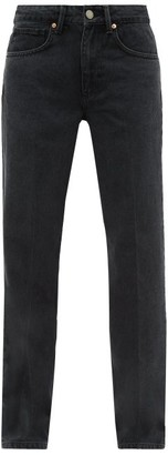 Raey Push Straight-leg Jeans - Black