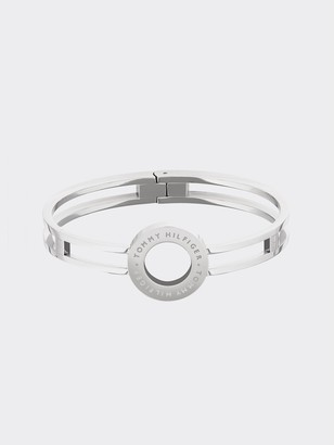 Tommy Hilfiger Stainless Steel Circle Bangle