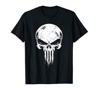 Marvel The Punisher Distressed Skull Icon T-Shirt