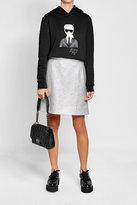 Karl Lagerfeld K/Kuilted Mini Leather Handbag