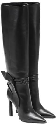 Saint Laurent Kate 105 leather knee-high boots