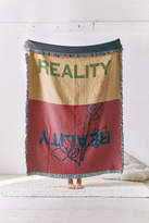 Urban Outfitters Artist Series Reality Woven Throw Blanket