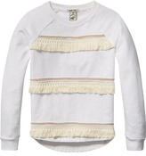 Scotch & Soda Fringed Sweater