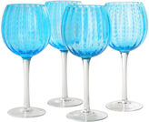 Artland Cambria Set of 4 Wine Glass Goblets