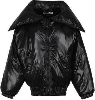 Givenchy Logo Patch Detail Padded Jacket