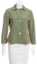 Akris Punto Polka Dot Casual Jacket