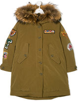 Freedomday Junior patched padded coat