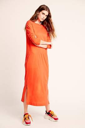 Free People Fp Beach Day Off T-Shirt Midi Dress by FP Beach at