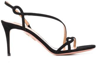 Aquazzura Serpentine 75mm sandals