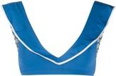 Marysia Swim ruffle bikini top