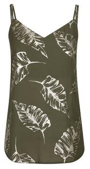 Dorothy Perkins Womens Tall Khaki Foil Camisole Top, Khaki