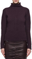 Tom Ford Compact Knit Cashmere Funnel Sweater