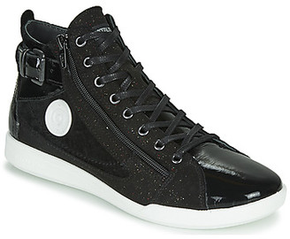Pataugas PALME women's Shoes (High-top Trainers) in Black