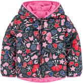 Kenzo Reversible signature print padded jacket