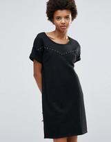 Maison Scotch Sweat T-Shirt Dress