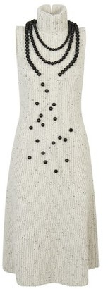 Loewe Ribbed knit dress pearls