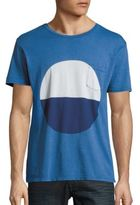 Quality Peoples Sunrise Colorblock T-Shirt