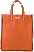 Salvatore Ferragamo top-handle tote - men - Calf Leather/Metal (Other) - One Size