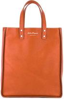 Salvatore Ferragamo top-handle tote - men - Calf Leather/Metal (Other) - One Size