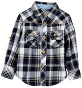 Kanz Junior Explorer Plaid Shirt (Toddler, Little Boys, & Big Boys)