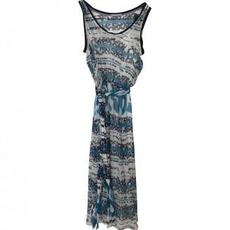 Strenesse Blue Silk Dress for Women