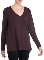 Nydj Mixed Media Cashmere Blend Sweater