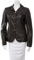 Marni Notch-Lapel Leather Jacket