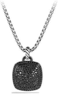 David Yurman Albion Pendant with Black Diamonds