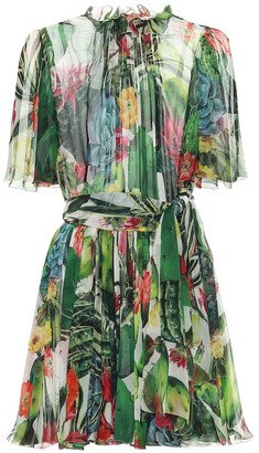 Dolce & Gabbana Exclusive to Mytheresa Printed chiffon minidress