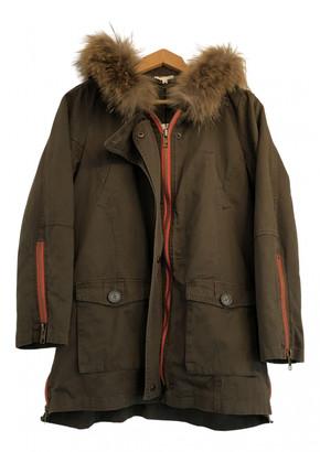 Bel Air Khaki Cotton Coats