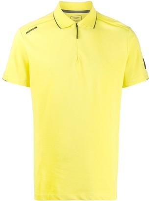 Hackett x Aston Martin Racing zipped polo shirt
