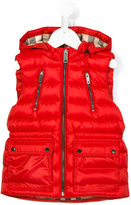 Burberry padded vest