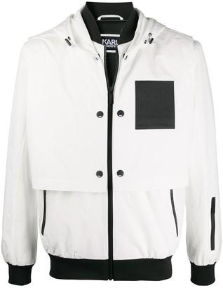 Karl Lagerfeld Paris Rue St Guillaume hooded jacket