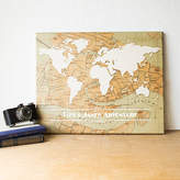 Cathy's Concepts CATHYS CONCEPTS Personalized Travel the World Canvas