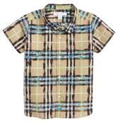 Burberry Clarkey Scribble Plaid Woven Shirt