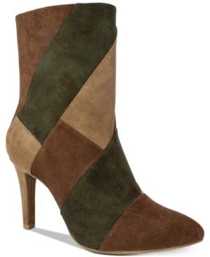 Rialto Casilda Mixed-Texture Boots Women's Shoes