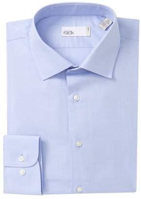 Nordstrom Rack Trim Fit Pin Dot Dress Shirt