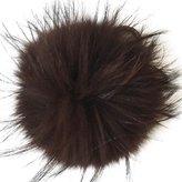 Valpeak 6'' Fluffy Raccoon Fur Ball Pom Pom Keychain Womens Bag Charms Key Chain