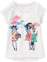 Gymboree Beach Gals Tee