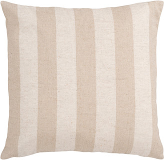 Surya Simple Stripe Down Fill Throw Pillow