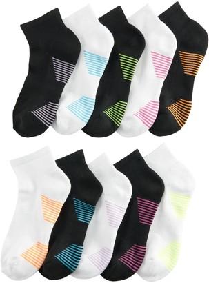 Tek Gear Women's 10-pack Basic Ankle Socks