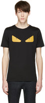 Fendi Black 'Bag Bug' Basic T-Shirt