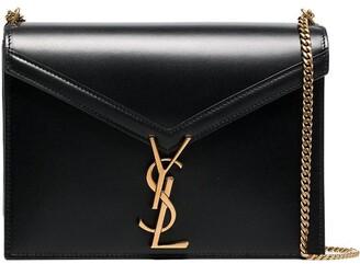 Saint Laurent Marceau logo clasp shoulder bag