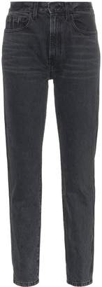 Jordache vintage style high waist straight jeans