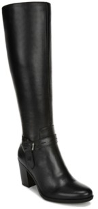 Naturalizer Kamora Wide Calf High Shaft Boots Women's Shoes