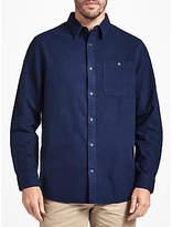 John Lewis Dalton Moleskin Shirt, Navy