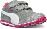 Puma Little Girls' Steeple Glitz Casual Sneakers from Finish Line