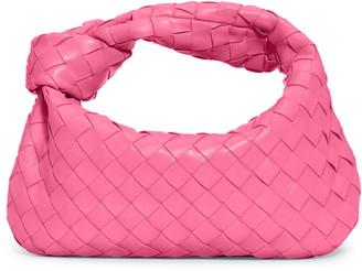Bottega Veneta Mini Intrecciato Leather Hobo Bag